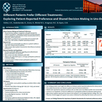 Different Patients Prefer Different Treatments: Exploring Patient-Reported Preference and Shared Decision Making in Uro-oncology