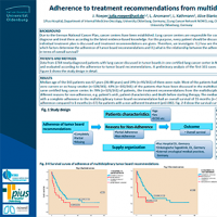Adherence to treatment recommendations from multidisciplinary tumor boards