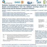 Radiation treatment of hemato-oncological patients in times of the COVID-19 pandemic: Expert recommendations from the radiation oncology panel of the German Hodgkin Study Group (GHSG) and German Lymphoma Alliance (GLA)