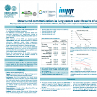 Structured communication in palliative lung cancer care: Results of a randomized trial