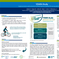 YOUEX-study Implementation and evaluation of three exercise modules for young adults with cancer